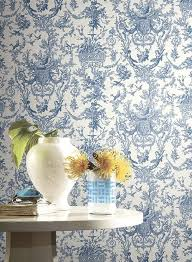 french country black toile wallpaper at4237 u2013 d marie interiors