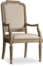 hooker furniture dining room corsica upholstered arm chair 5180 75401