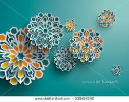 pattern art name paper graphic islamic geometric art islamic stock vector 630488192