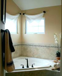 curtains for bathroom windows ideas bathroom window treatment ideas engem me
