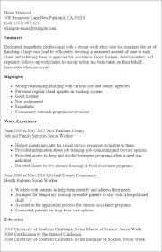 social work resume templates social work resumes sles worker fresh for resume templates