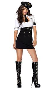 Amy Pond Halloween Costume Police Party Costume Female Police Uniform Police Style