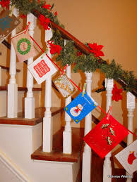 Christmas Railing Decorations 30 Staircase Christmas Decoration Ideas To Diy This Year