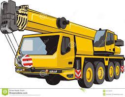 heavy mobile crane truck stock photo image 21761630