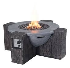 Modern Sofa South Africa Zuo Vive Outdoor Hades Propane Fire Pit Grey 100414 Modern