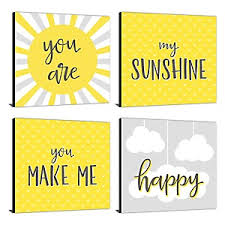 You Are My Sunshine Wall Decor You Are My Sunshine Birthday Party Theme Bigdotofhappiness Com