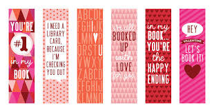 15 free valentine u0027s day bookmark printables
