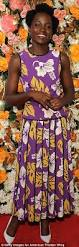 Flower Power Nyc - lupita nyong u0027o looks gorgeous in bright floral dress at the obie
