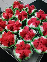 cara membuat brownies kukus buah naga resep bolu kukus semangka sama persis dengan buahnya resep kafe