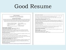 how to do a good resume pleasant resume sample cv template