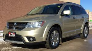 Dodge Journey Suv - 2011 dodge journey r t awd chrome alloy wheels sunroof leather