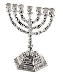seven branch menorah beautiful seven branch menorah design 7 branch candle