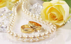 wedding rings flower images Wedding rings with flowers images lovely flowers wedding rose jpg
