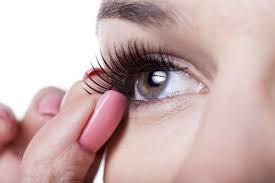 how to apply false lashes tutorials superdrug