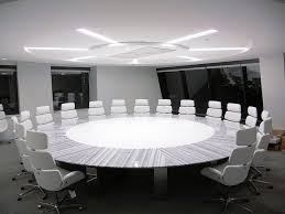 marble conference room table the round table lineac marble and white corrian infield for the