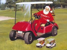 tom browning christmas cards santa figurines