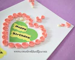paper quilling handmade cards for sale shop creative khadija