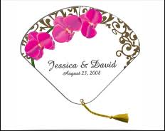 wedding program fan sticks fans promotional fans program wedding fans fanprinter
