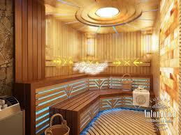 saunas interior design