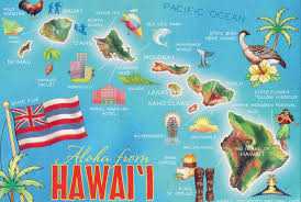 Map Of The Usa by Large Tourist Map Of Hawaii Islands Hawaii State Usa Maps Of