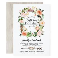 boho invitations u0026 announcements zazzle com au