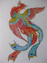 phoenix tattoo design by colouredpolo on deviantart