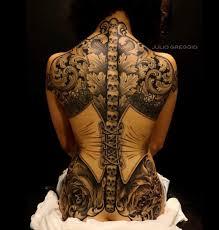 corset with skulls u0026 filigree best tattoo design ideas