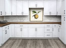 white kitchen cabinets raised panel iced white raised panel kitchen cabinets craftmark cabinets