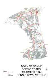 Massachusetts Town Map by Scenic Roads Town Of Dennis Ma Planning Weblog