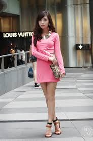 dress with necklace images Bubble gum dresses gold necklaces quot pretty in pink quot by kryz jpg