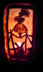 how to haunted mansion portrait pumpkin carving how to make a