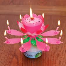 amazing birthday candle flower birthday candle flower birthday candle ebay amazing