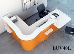 Zig Zag Reception Desk Zig Zag Countertop Linear Reception Desk By Mdd Mdd Office