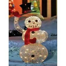 46 silver seqhined lighted animated snowman with top hat outdoor