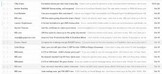 mine your spam email it s of tips on how to be more