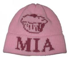 personalized knit hats always the children