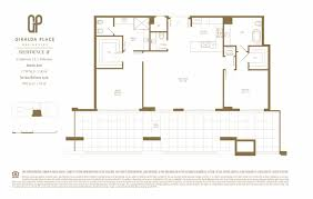 Antilla Floor Plan by Giralda Place Coral Gables Condos For Sale And Rent Bogatov Realty