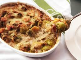 the top creamed brussels sprouts gratin recipe serious eats