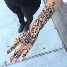 collection of 25 henna