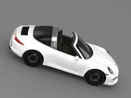 porsche targa 2015 3d model porsche 911 targa 4 gts 991 2015 cgtrader