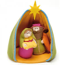 small felt nativity scene navidad pinterest felting natal