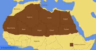 africa map deserts desert facts information beautiful world travel guide
