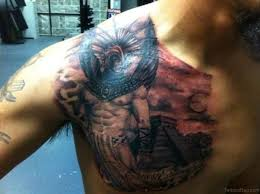 50 aztec tattoos designs on chest