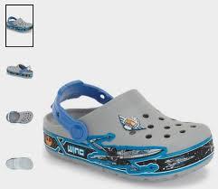 star wars crocs light up crocs star wars x wing light up slip on walker