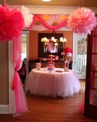 Table Party Decorations Best 25 Girls Party Decorations Ideas On Pinterest 1st Birthday