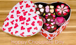 chocolate s day happy chocolate day 2017 chocolates in heart box