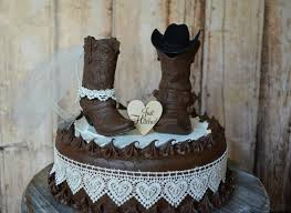 cowboy wedding cake toppers cowboy boot wedding cake topper just hitched sign country barn