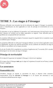 bureau des stages 10 charte des stages aussi ces textes ont imposé de nouvelles