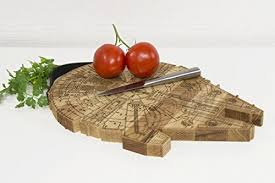 engraved serving platter millennium falcon board wooden cutting board engraved wooden