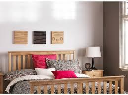 Bed Frame High Wiltshire Oak Bed Frame High Foot Board Oak City